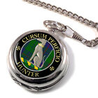 Hunter Scottish Clan Pocket Watch