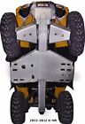Ricochet Off-Road 8 PC Complete Skid Plate Set, 2011-16 Can-Am Outlander X-MR