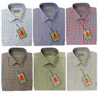 Traditional Country Classics Outdoor Long Sleeve Check Shirts By Tom Hagan M-xxl