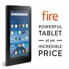 Amazon Kindle Fire 7 inch IPS 8 GB Black Front Rear Camera New 2015 Model