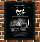 Framed Mary And Max Movie Poster A4 / A3 Size In Black / White Frame