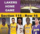 Los Angeles Lakers vs Spurs 2-19-2016 : 2 Tickets Staples Center !!