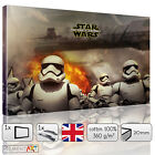 STAR WARS 7 THE FORCE AWAKENS STORMTROOPER - CANVAS WALL ART PRINT PICTURE
