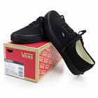 Vans VN-0EE3BKA:Authentic Core Classic Lo All-BLACK Canvas Sneaker Kid/Women/Men