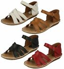 Ladies Clarks Tustin Sahara Leather Casual Sandals E Fitting