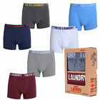 Tokyo Laundry 1P3141R Mens New 2 Pack Plain Sport Boxers Shorts Trunks Underwear