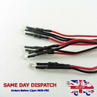 12v LED Diode Light 20cm Cable Line Wire 3mm Emitting Sign Light Clear