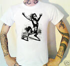 Medieval Kelpie Water Demon T-Shirt. Engraving Etching Devil Gothic Victorian