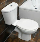 Georgia Close Coupled Toilet Set with Dual Flush Cistern Optional Seat