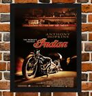 Framed The World's Fastest Indian Movie Poster A4 / A3 Size In Black/White Frame