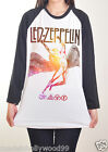 Galaxy Led Zeppelin Jimmy Page Baseball Raglan Music Band Tee Woman Jersey S M L