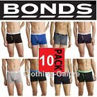 10 PACK x MENS BONDS GUYFRONT TRUNK TRUNKS UNDERWEAR BLACK BLUE RED GREY SHORTS