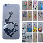 Disney Snow White Clear TPU Soft Case Silicone Cover For Iphone 5/5S 6/6S 6/6S+