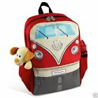 VW Officially Licensed Volkswagen Collection Bus Backpack -red, blue, orange