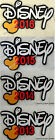 DISNEY 2016 15 14 13 DIE CUT TITLE You Choose Scrapbook Page Paper Piece SSFFDeb