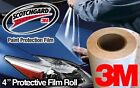 "4"" 3M Gloss Clear Protective Vinyl Vehicle Wrap Film"