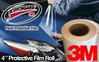 """4"""" 3M Gloss Clear Protective Vinyl Vehicle Wrap Film"""