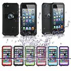 WATERPROOF SHOCKPROOF CASE FOR IPOD TOUCH 6 / 5 [FITS LIFEPROOF& OTTERBOX CLIP]