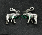 Tibetan silver charm pendant new elk jewelry finding 17*15mm 1.6g 15-300pcs