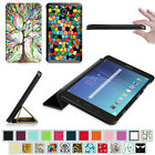 Slim Flip Leather Case Cover for Samsung Galaxy Tab E 8.0 8-inch Tablet SM-T377