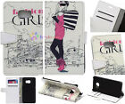 FashionGirl Luxury Wallet Card Leather Case Fr SamSung series S7 A3 J1 (2016) SF