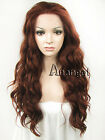 Fashion Gold Long Synthetic Lace Front Wig Sexy Lady Curly Heat Resistant Hair