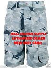 "AFTCO M82 Grey Camo Tactical Fishing Boat Men's Shorts 30""-44"". Fast Free Ship."