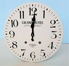 Large Vintage Wooden Wall Clock Shabby Chic Rustic Kitchen Home Antique Style ii