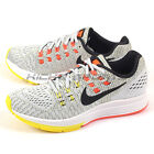 Nike Wmns Air Zoom Structure 19 Pure Platinum/Black-Yellow-Orange 806584-007