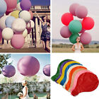36 Inch 90cm Large Circular Wedding Party Giant Large Latex Balloon Event Party
