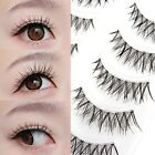 5 Pairs Natural Thick False Eyelashes Fake Eye Lashes Make Up Extensions Black