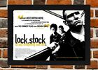 Framed Lock Stock And Two Smoking Barrels Movie Poster A4-A3 Size In Black Frame