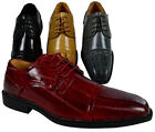 MEN'S DRESS SHOES FORMAL OXFORD POINTY LACE UP STYLE WING TIP WEDDING CASUAL NEW