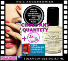 Creative Nail Design Solar Oil 3.7ml Nail Cuticle Conditioner + Removal Wrap*