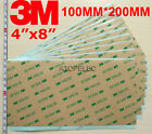 """3M 300LSE Double Sided SUPER STICKY HEAVY DUTY ADHESIVE SHEET 4""""x8"""" 100MM 200MM"""