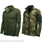 MENS WATERPROOF REVERSIBLE CAMO JACKET COAT SMOCK ARMY HIKING HUNTING SHOOTING