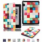 Painted Magnetic Smart Shockproof PU Leather Case Cover For Amazon Kindle Voyage