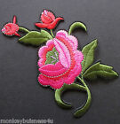 1 Iron on Patch - Flower Floral - Embroidered - Applique - Sewing/Dress Making