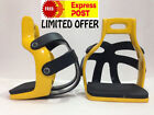 HORSE RIDING ALUMINIUM ENDURANCE FLEX RIDE CAGED SAFETY STIRRUP SADDLE STIRRUPS