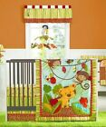 Kids Line Kidsline Rainforest 6-piece Crib Set CHOOSE