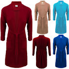Mens Cotton Terry Towel Bath Dressing Gown Belted Robe Including Plus Sizes (UK)