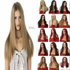 "24"" Straight Wig Stylish Full Head Party Wigs Hair Women Wig Heat Resistant"
