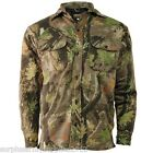 COUNTRY CAMOUFLAGE PADDED QUILTED SHIRT S-2XL FISHING HUNTING STORMKLOTH