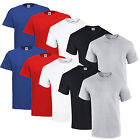 5/10er GILDAN T SHIRTS ODER FRUIT OF THE LOOM HEAVY COTTON T SHIRT M L XL XXL
