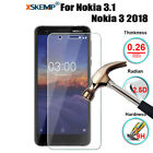 Premium 9H Tempered Glass Screen Protector For Nokia 1 Plus / 3.2 / 4.2 / 9 / X7