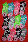 Wholesale Lot of 12 Ladies Ankle Socks Size 9-11 No Show  AMERICAN SELLER
