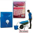 80L Water Carrier Bag ideal for storing & transporting water for Garden Worksite