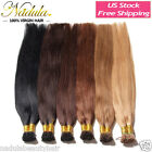 "200S 18""20""22""24"" Keratin Stick I Tip Remy Straight Human Hair Extensions 0.5g/s"