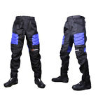 New DUHAN Unisex Nylon Motorcycle Dirtbike Pants Racing Armor Riding Gear DK02