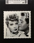 LUCILLE BALL & DESI ARNAZ  - I LOVE LUCY METAL STAMP